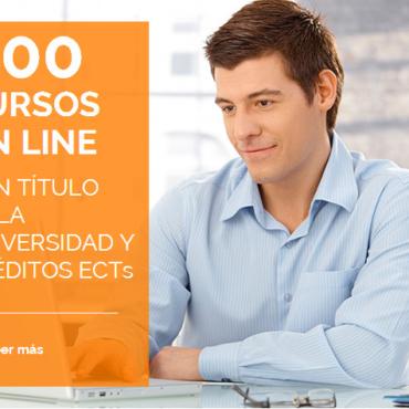 Plataforma 900 cursos online con titulación
