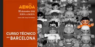 Curso técnico 'Novedades en Formación Programada'. Barcelona, 16 Diciembre