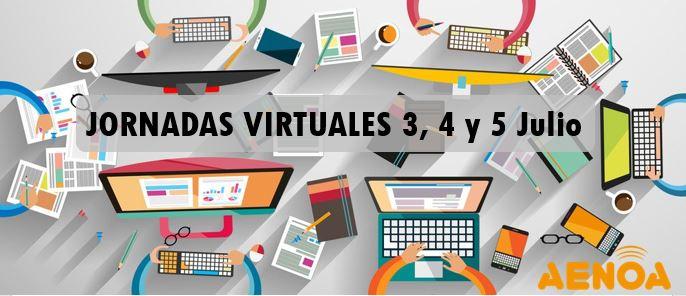 Jornadas virtuales aenoa