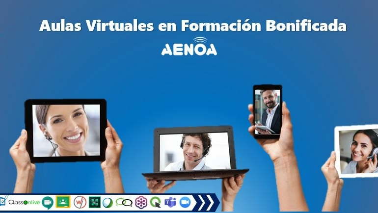 Curso técnico: Aulas Virtuales y su aplicación en Formación Programada (Bonificada)