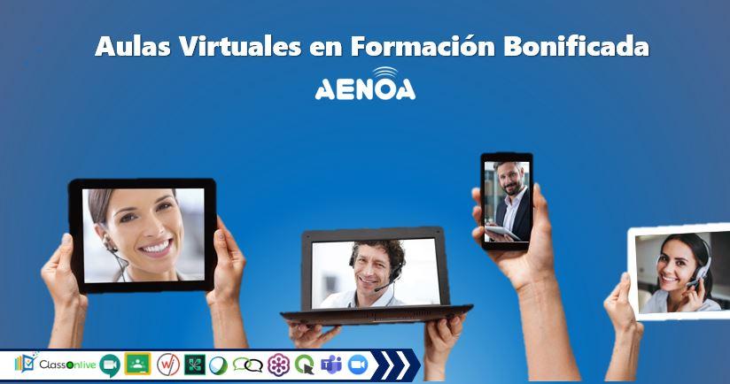 El uso de Aulas Virtuales para la Formación Bonificada (Programada).